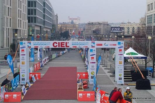 CSOB BA Marathon - Erdinger inline race