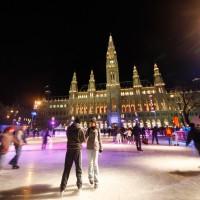 korčuľovanie vo Viedni