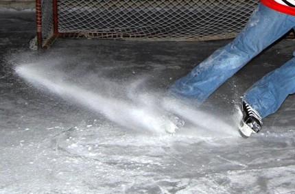 ako zastaviť na ľade