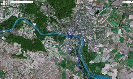 Pohľad satelitu
