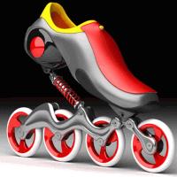 Mercury skate front
