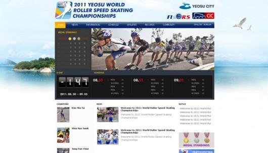 Yeosu korea inline speed skating championchips