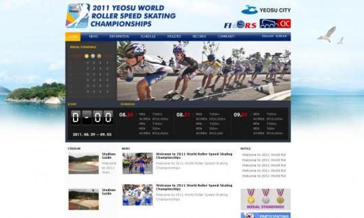 Inline World championchip yeosu2011 Korea